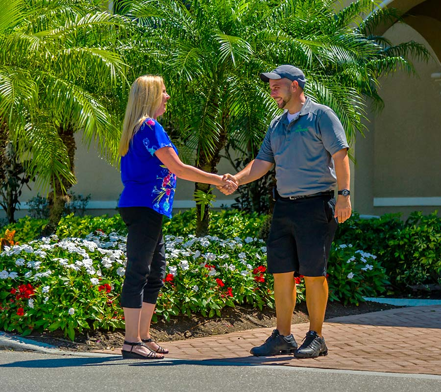 Customer Service Commitment To Provide Superior Landscaping Services | Greenscapes of Southwest Florida, Inc.